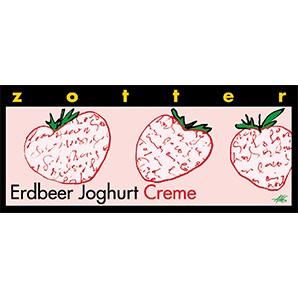 Zotter Erdbeer Joghurt Creme 70g