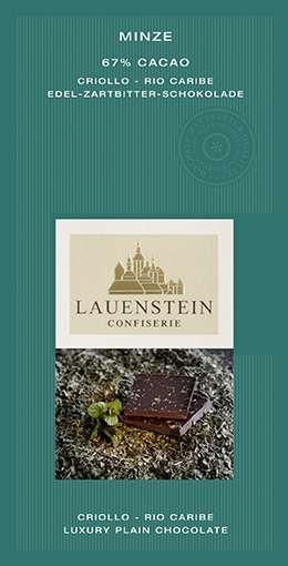 Lauenstein 67% Kakao Minze 80g Vegan