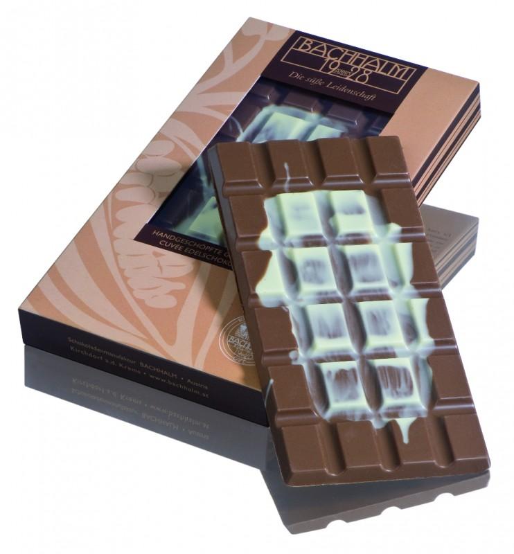 Bachhalm Cappuccino Vollmilch Cuvee Edelschokolade 80g
