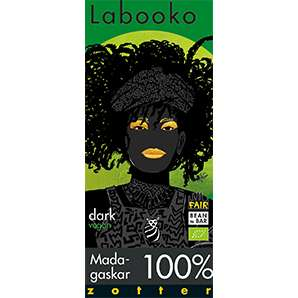 Zotter Labooko Madagaskar 100% Vegan und Laktosefrei 65g