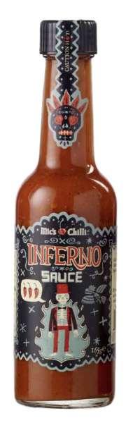 Mic's Chilli Inferno Sauce Original 165g