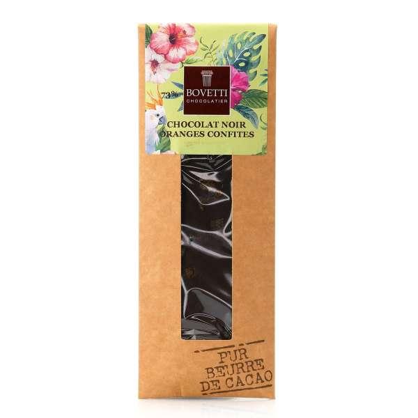 Bovetti Dark Chocolate Candied Orange Vegan 50g