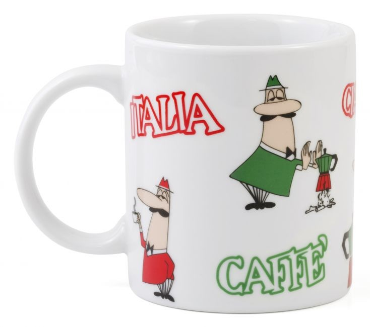 Bialetti Kaffeebecher Tricolore Omino