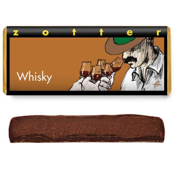 Zotter Whisky 70g