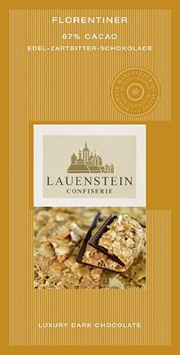 Lauenstein Florentiner Schokolade Zartbitter 80g