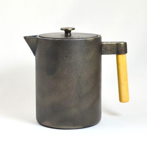 Eisenkanne Kohi 1,2l (Gußeisen, Hoch und Gerade)