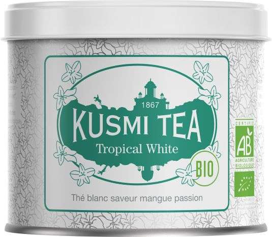 Kusmi BIO Tea Tropical White