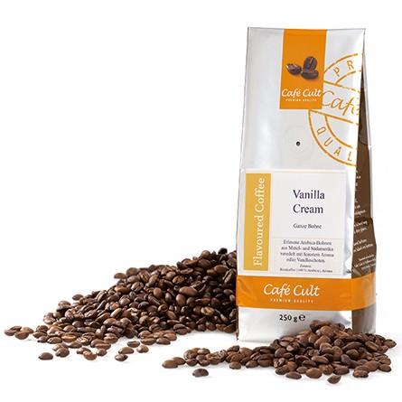 Café Cult Vanilla Cream Ganze Bohne Aromabeutel 250g