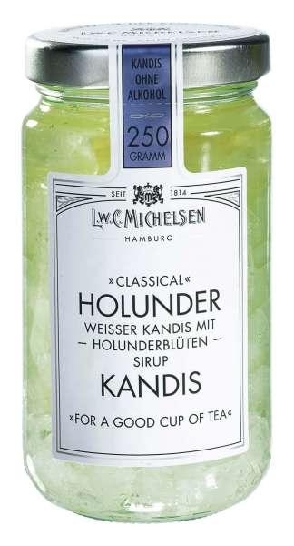 Holunderblüten Kandis ohne Alkohol 250g