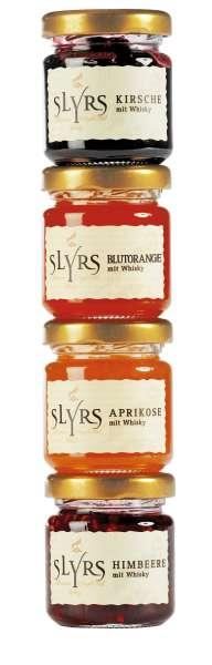 Slyrs Mini Marmeladenset mit Whisky Marmelade 200g