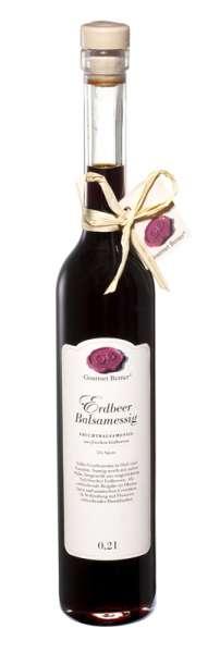 Berner`s Erdbeer-Balsamessig 200ml