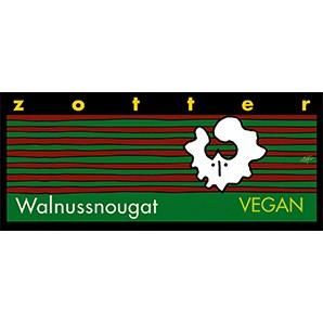 Zotter Walnussnougat Vegan und Laktosefrei 70g
