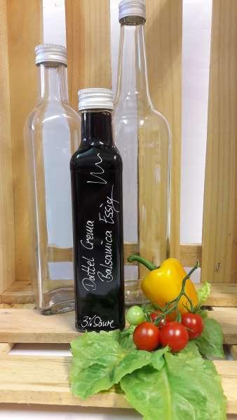 Dattel Crema Essig mit Balsamico - vegan