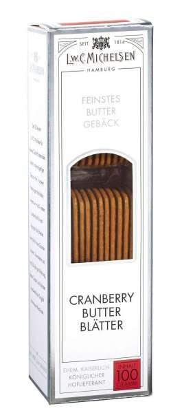 Michelsen Cranberry Butter Blätter 100g