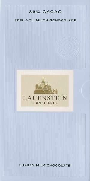 Lauenstein 38% Kakao Edel-Vollmilch-Schokolade 80g