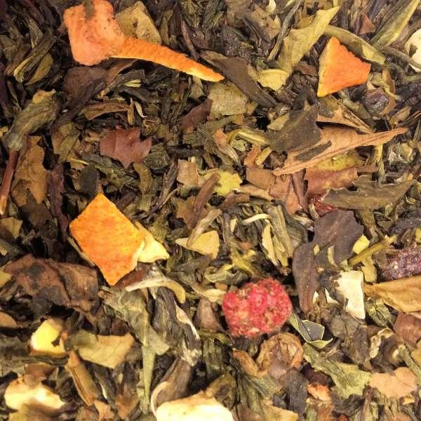 Tempel der Götter Grüner und weißer Tee