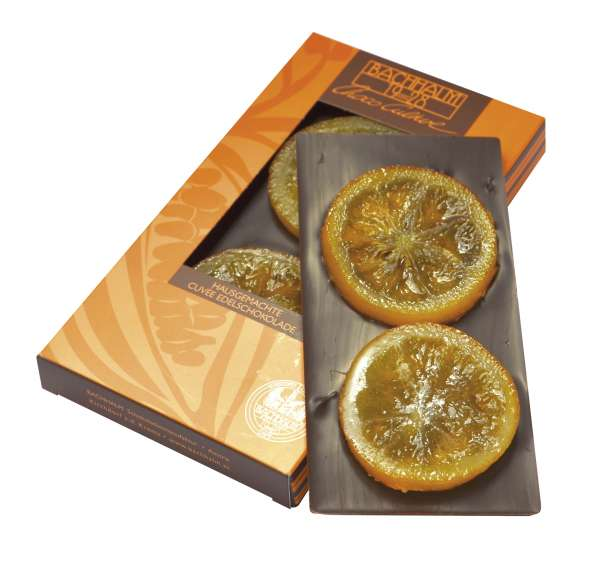 Bachhalm Orange Zartbitter Schokolade Vegan 90g