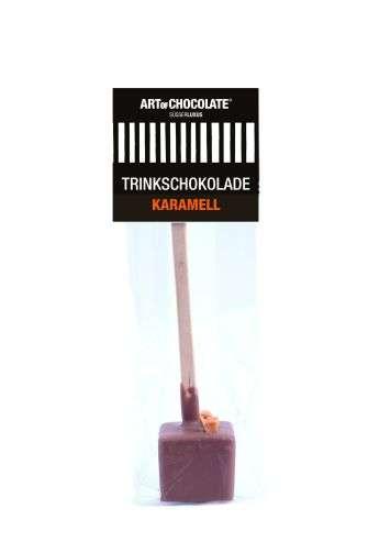 Art of Chocolate Würfel am Stiel Karamell Vollmilch 30g