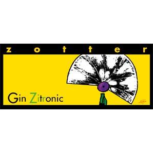 Zotter Gin Zitronic 70g
