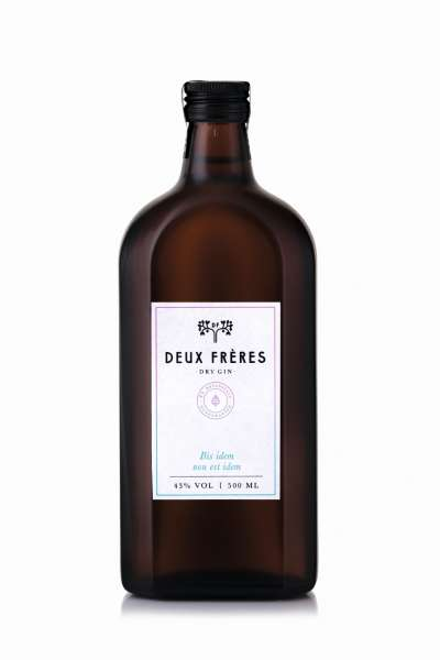 Deux Frères Dry Gin 500ml
