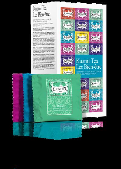 Kusmi Wellness Tea (Les Bien-être) - Die Kusmi Welt in Teebeuteln 52,8 g
