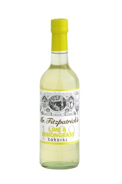 Mr. Fitzpatrick´s Lime & Lemongrass Cordial- Sirup 500ml