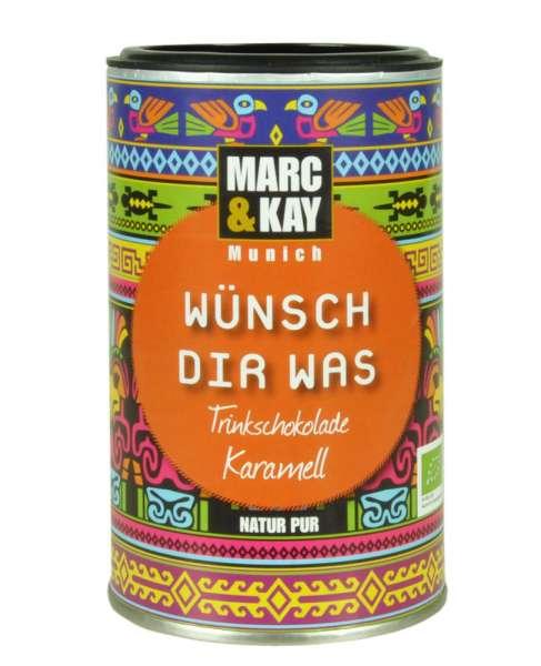 BIO Trinkschokolade Marc & Kay Wünsch Dir Was Vegan