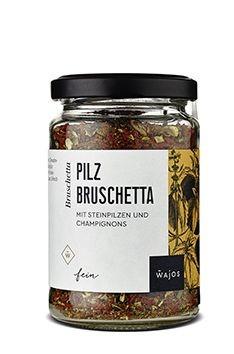 Wajos Pilz Bruschetta 75g - vegan
