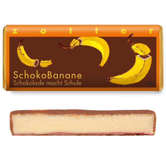 Zotter Schokobanane - Schokolade macht Schule 70g