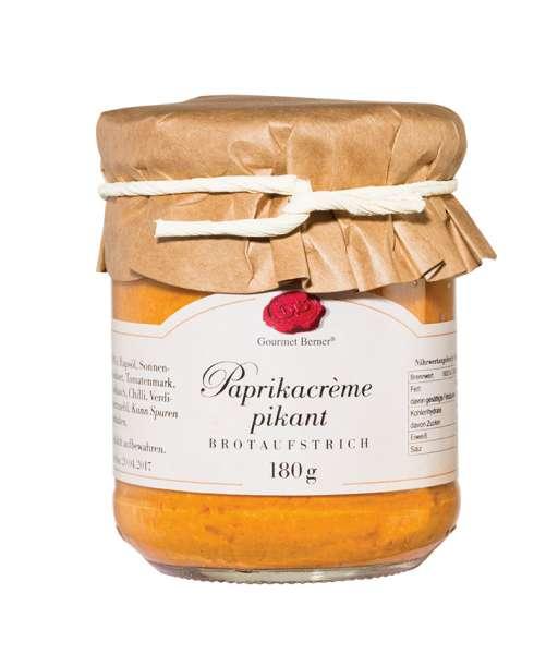 Berner`s Paprikacrème pikant 180g - vegan