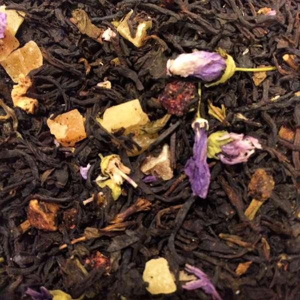 Granatapfel-Birne Schwarzer Tee
