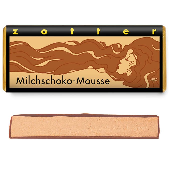 Zotter Milchschoko-Mousse 70g