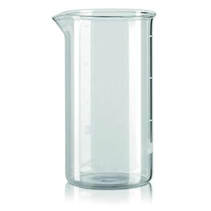 Bialetti French Press Preziosa Ersatzglas 1,0 Liter