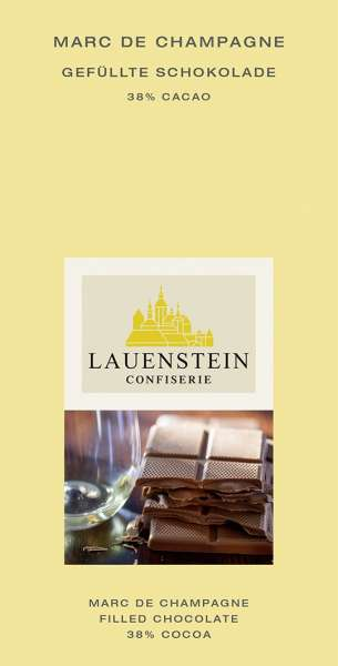 Lauenstein Marc de Champagne 38% Cacao 80g
