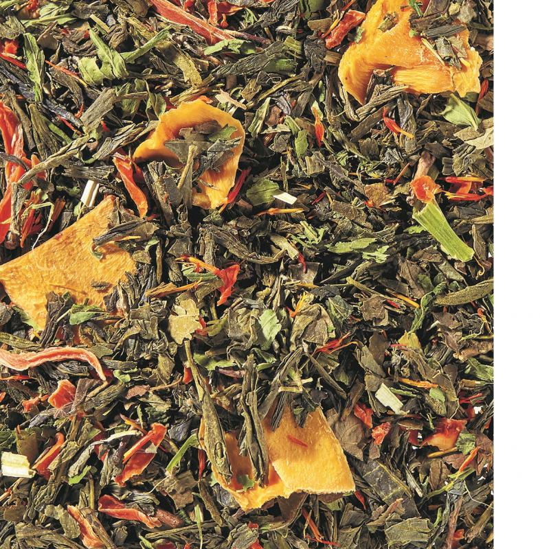 Mango-Hanf Grüner Tee
