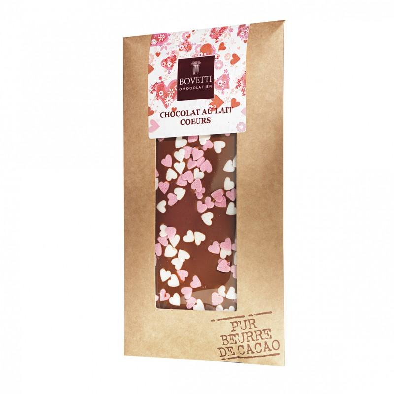Bovetti Milk Chocolate Heart Decoration 100 g