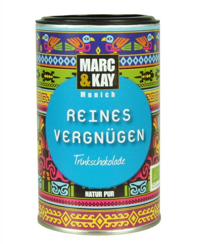 BIO Trinkschokolade Marc & Kay Reines Vergnügen Vegan
