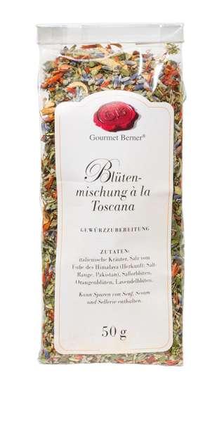 Berner`s Blütenmischung Toscana Gewürz 50g