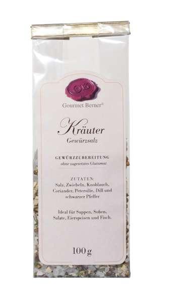 Berner`s Kräuter-Gewürzsalz 100g