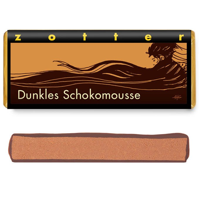 Zotter Dunkles Schokomousse 70g