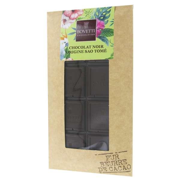 Bovetti Organic Dark Origin Chocolate Sao Tomé Príncipe 100g Vegan