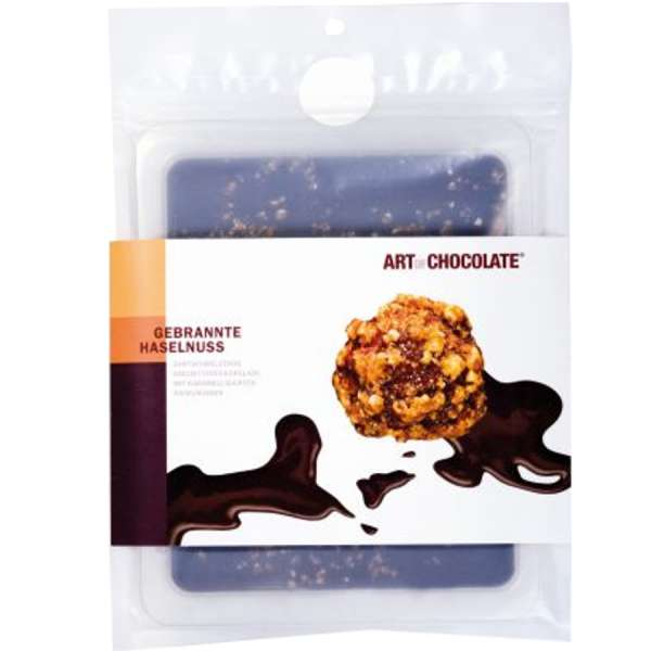 Art of Chocolate Gebrannte Haselnuss Edelbitter Schokolade 120g
