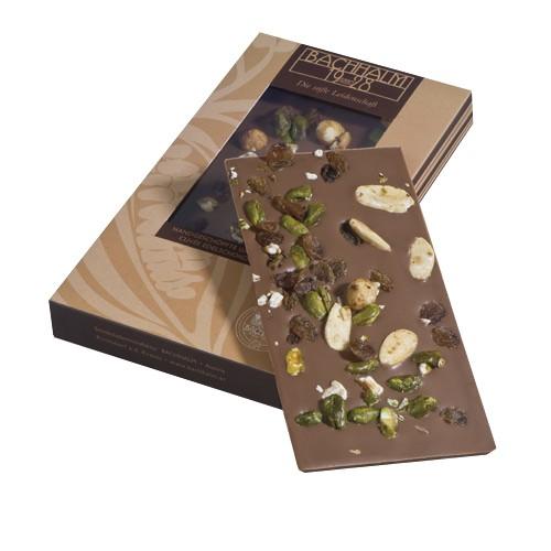 Bachhalm Rohkost Vollmilch Cuvee Edelschokolade 85g