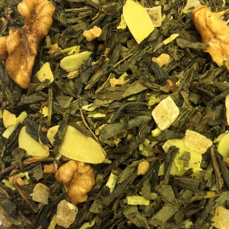 Walnuss Grüner Tee