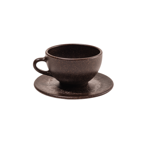 KAFFEEFORM Milchkaffeetasse - 290ml aus recyceltem Kaffeesatz