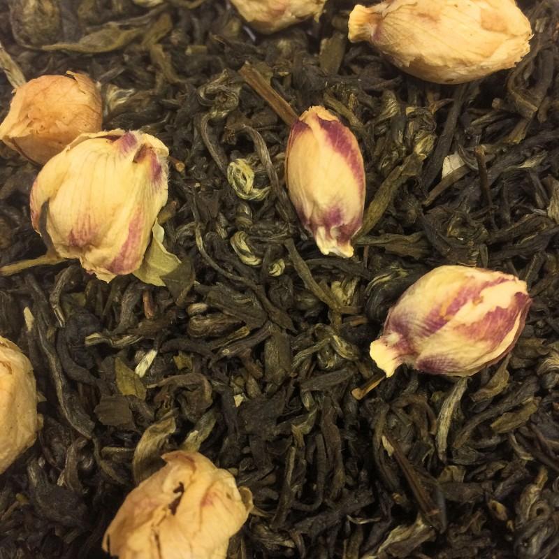 Buddhas kleines Geheimnis Weißer und Grüner Tee