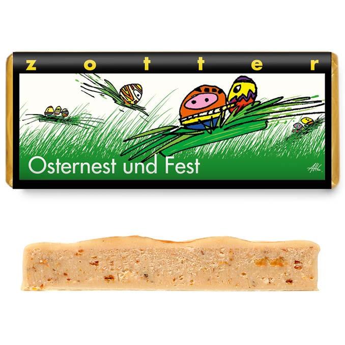 Zotter Osternest und Fest 70g