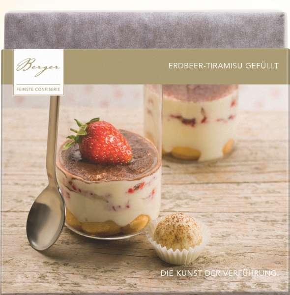 Berger Erdbeer-Tiramisu gefüllte Vollmilch-Schokolade 100g