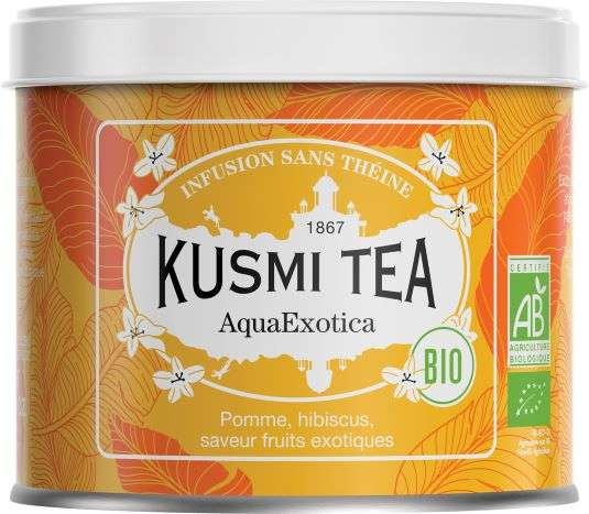 Kusmi BIO Tea Aqua Exotica 100g Dose