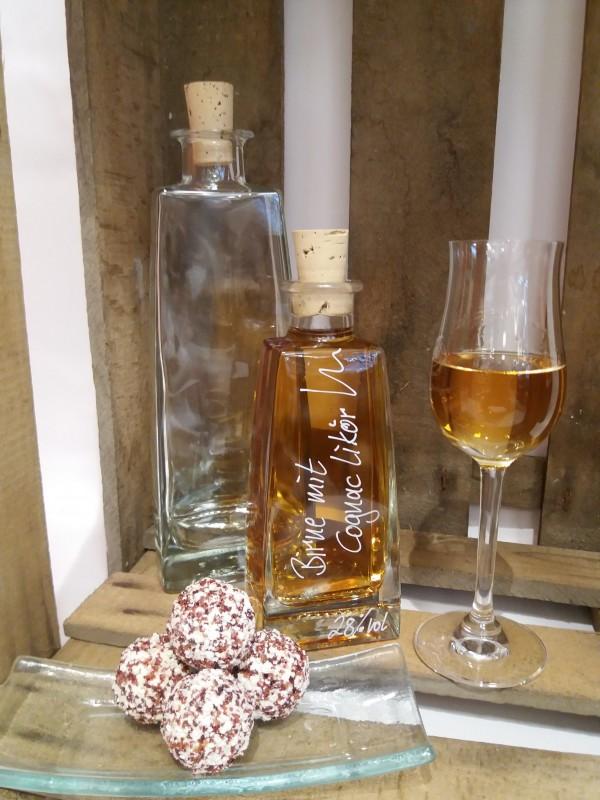 Birne mit Cognac